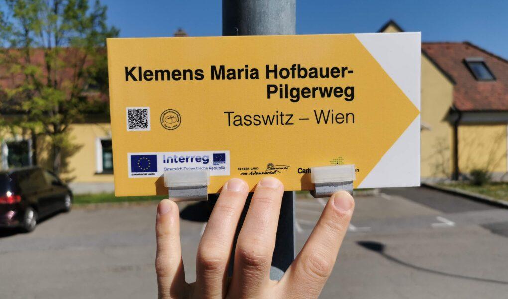 Poutní cesta sv. Klementa Maria Hofbauera spojuje Tasovice s Vídní