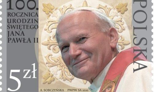Polská pošta vydala známku k 100. výročí narození papeže Jana Pavla II.