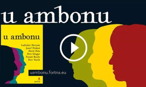 """Jarní koronavirová kázání """"U ambonu"""" z hradčanské Fortny vychází v knížce"""