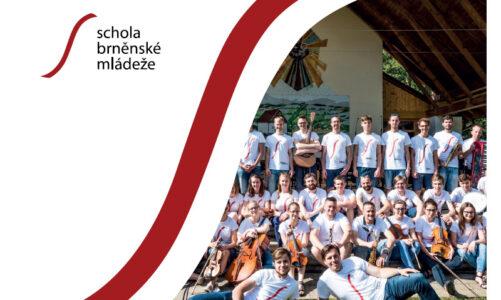 """Schola brněnské mládeže děkuje za 18 let společného zpívání a vydává CD """"Sílu dám"""""""