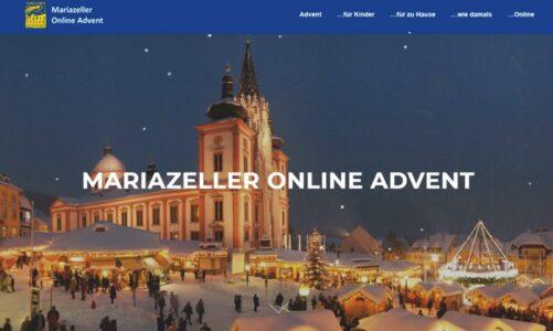Poutní místo Mariazell má adventní trhy online. Poprvé ve své historii