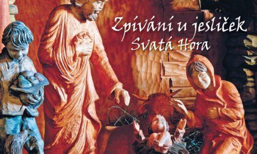 Ze Svaté Hory zní koledy! Loňské zpívání u jesliček vychází na CD