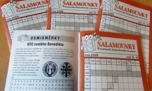 V nových Šalamounkách najdete křížovky a osmisměrky s tajenkami o rajhradském opatství