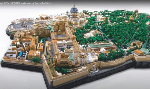 Dostali jste k Vánocům LEGO? Máme pro vás inspiraci. Vatikán celý z kostek!