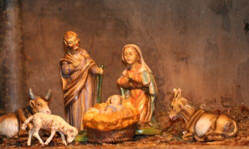 Vánoční pohádkový příběh z rajhradského opatství o dřevěné ovečce a Staré Matce Boží