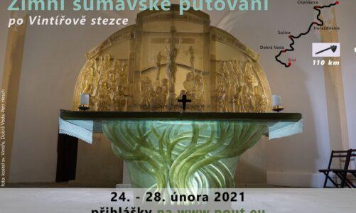 Zimní putování po Vintířově stezce ze Srní na Šumavě do jihočeské Blatné