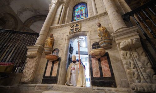 V Compostele začal Jubilejní rok svatého Jakuba. Svatá brána bude na přání papeže otevřena i v roce 2022
