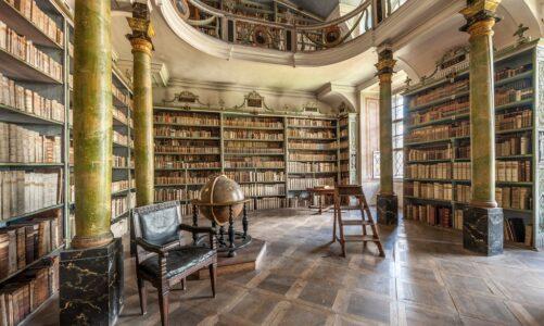 Další živé online prohlídky broumovského kláštera se opět zaměří na klášterní knihovnu