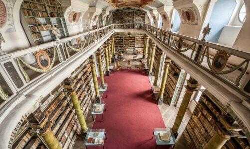 Broumovský klášter připravil na neděli 14. února živou online prohlídku klášterní knihovny