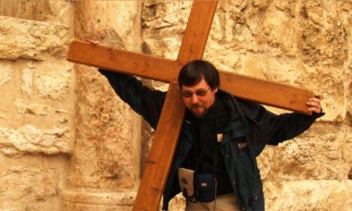 Online beseda o křížové cestě v Jeruzalémě z Hradce Králové