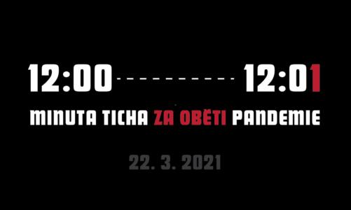 Minuta ticha a vyzvánění tisíců kostelních zvonů na památku desetitisíců obětí koronaviru v České republice