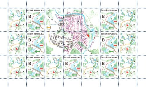Nová poštovní známka připomíná vznik první turistické trasy v roce 1889