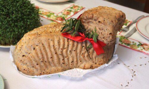Žehnání velikonočních pokrmů v rodinách