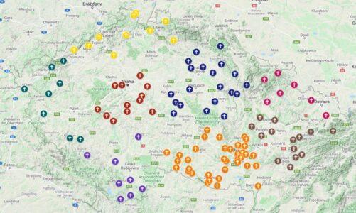 Misijní putování k Panně Marii po celé České republice
