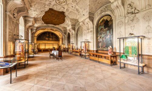 Živé online prohlídky se zaměří na refektář broumovského kláštera s unikátní kopií Turínského plátna