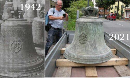 Do Šilheřovic se po 79 letech vrací zvon, který měl být v Hamburku roztaven na děla